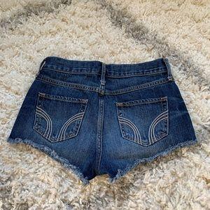 Hollister Mid-Rise Denim Jean Shorts